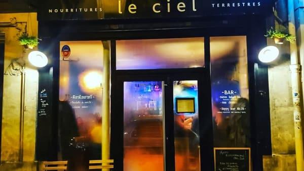 Devanture embuée - Le Ciel, Paris