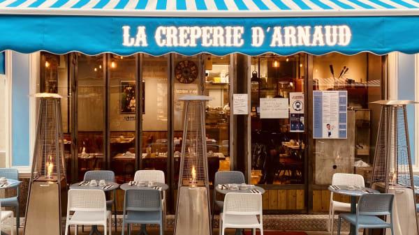 La Crêperie d'Arnaud, Paris
