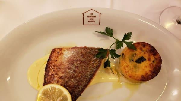poisson - La Maison de Marie, Nice