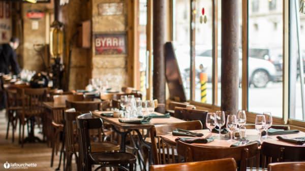 Vue de la salle - Le Bistrot Gourmand, Paris