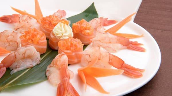 Crudo di pesce - Hegui Taste of Asia, Milan