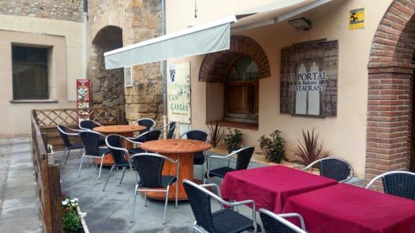 Terraza - El Portal de Bàscara, Bàscara