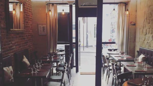 Vue de la salle - Chez Rita et Claudio, Paris