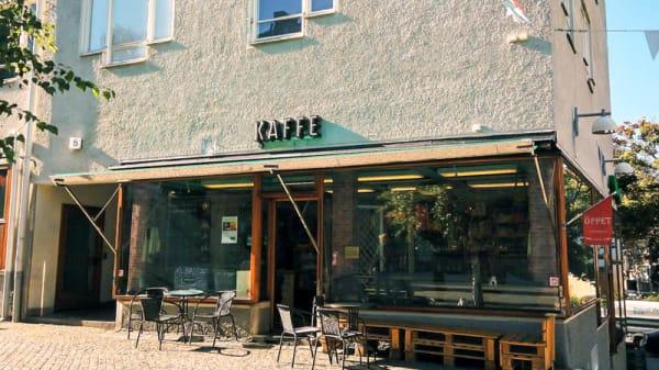 Ingång - Kaffe & Restaurang Express Colombia, Farsta