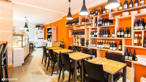 Salle du restaurant - Levain, Le Vin, Paris