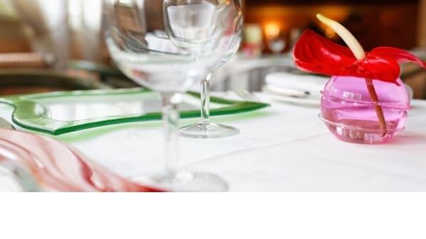 Détail de décoration - Restaurant Gastronomique Le Dauphin, L'Aigle