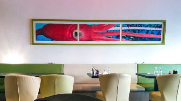 Salle du restaurant - Yamada, Paris