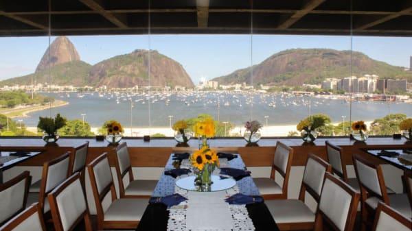 Vista da sala - Restaurante Scotton (Botafogo), Rio de Janeiro