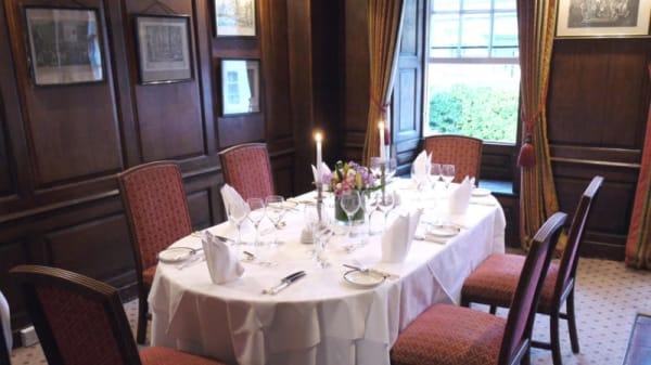Restaurant at Spread Eagle Hotel, Midhurst