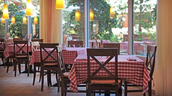 mesas montadas - Al Capone Hotel Playa Golf & Spa, Sitges