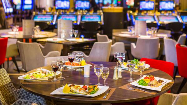 Vue de la salle - Golden Restaurant - Casino Barrière Ruhl Nice, Nice