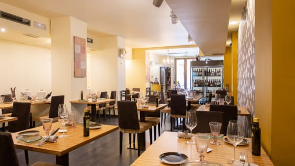 Vista Sala - Coco & Bibi Restaurant, Zaragoza