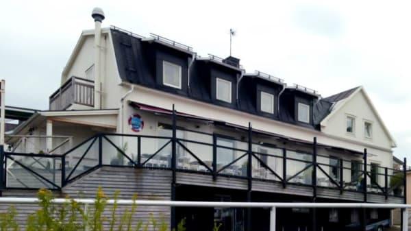 Ingång - Strandhotellet, Öregrund