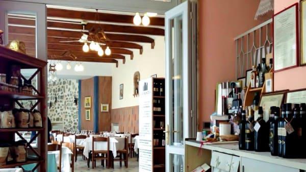 Vista sala - Ristorante di Crea, Serralunga Di Crea