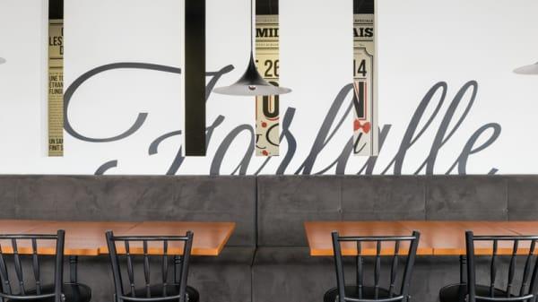 Vue de la salle - Tonton Burger et Lulu Farfalle, Nantes