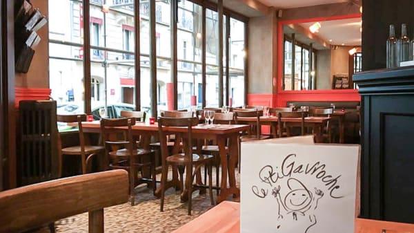Vue de la salle - Le P'tit Gavroche, Paris