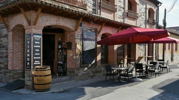 Entrada - Bar taperia tienda auténticos CYL, Coca