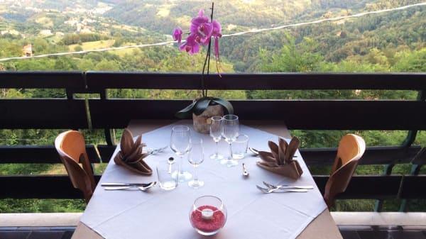 Vista terrazza - Locanda San Luca, San Luca Marostica