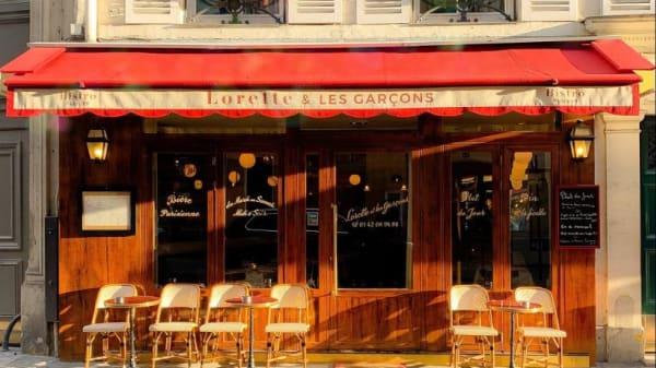 facade - Lorette et les Garçons, Paris