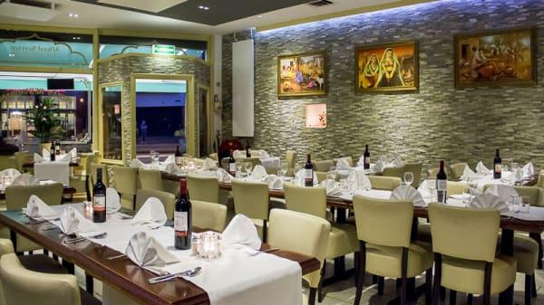 Restaurantzaal - Motimahal Indiaas Restaurant, Amsterdam