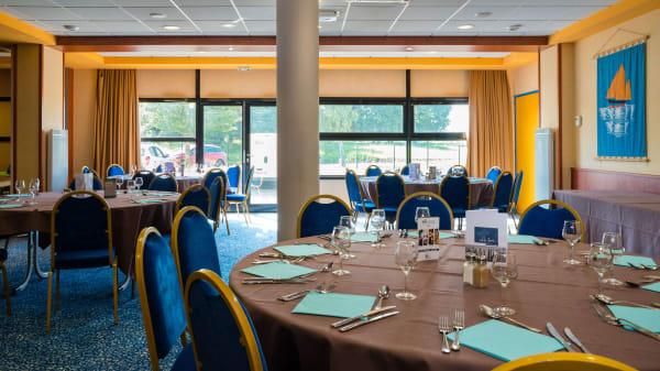 La salle de restaurant - Restaurant Le Transat, Saint-Malo
