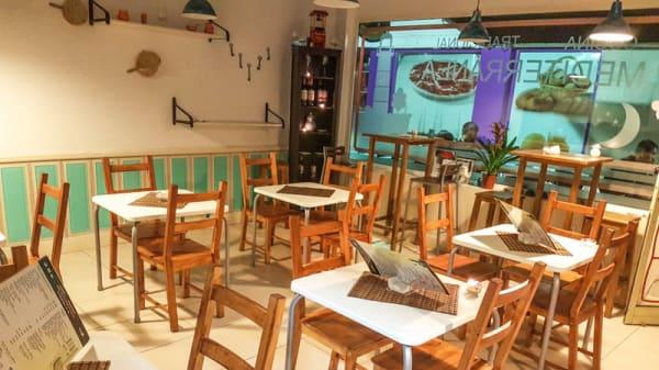 Vista sala - Cocina Mediterránea, Sevilla