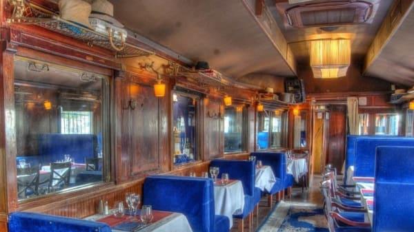 Aperçu de l'intérieur - Le Wagon Bleu, Paris