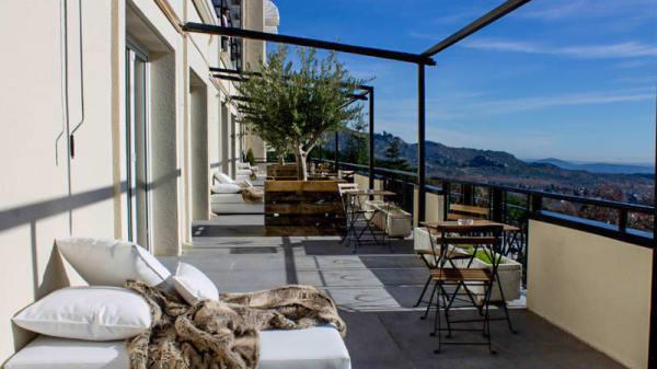 Vista terraza - Escaparate, Navacerrada
