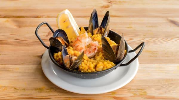 Chef's suggestion - La Paella Tapas Bar, London