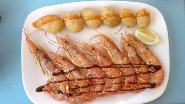 Sugerencia de plato - Mar Ajuy, Ajuy