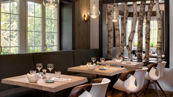 Salle de restaurant - La Cheneaudière - Relais & Châteaux, Colroy-la-Roche