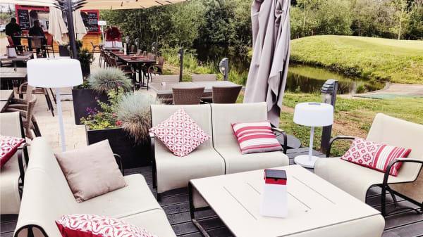 Espace Lounge - Bistrot du 9 - Golf du Tremblay sur Mauldre, Le Tremblay-sur-Mauldre