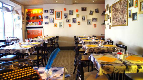 Salle du restaurant - Mille et une Feuilles, La Charité-sur-Loire