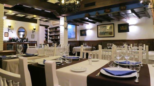 Sala del restaurante - Casa Aurelio - Sinagoga, Toledo