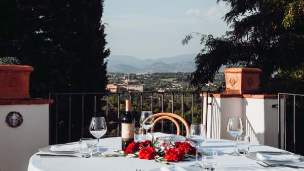 Tavolo - Villa Castiglione Ristorante In Vino Veritas, Impruneta