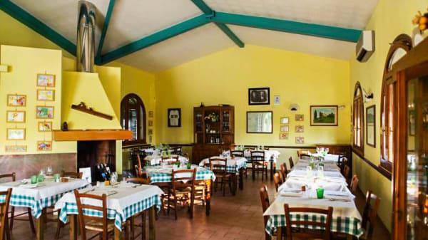 Vista sala - Villa Caprareccia, Bibbona