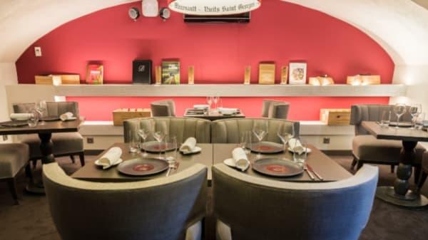 Salle du restaurant - Burgundy By Matthieu, Lyon