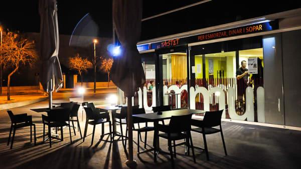 Vista terraza - El Tastet, Les Fonts (Terrassa)