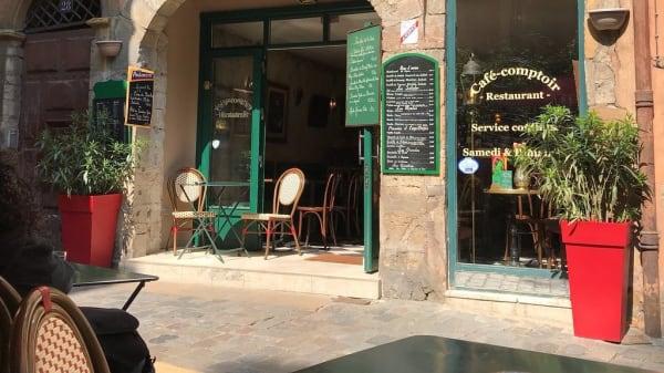 Terrasse - Sol Café, Lyon