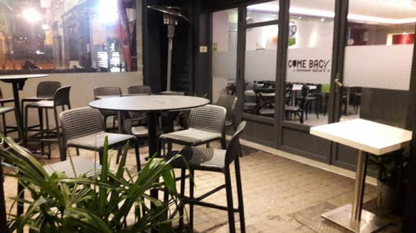 Terrasse - Come Back Bistrot, Bourgoin-Jallieu