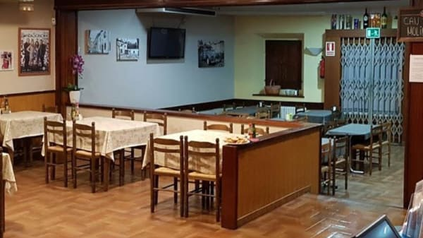 Vista sala - Restaurant Can Toni Molins, Maçanet De La Selva