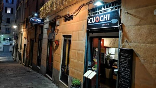 Entrata - i Cuochi, Genoa