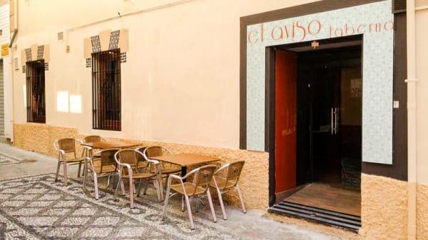 Entrada - El Aviso, Granada