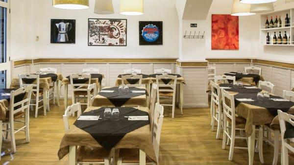 Sala del ristorante - Gradito, Rome