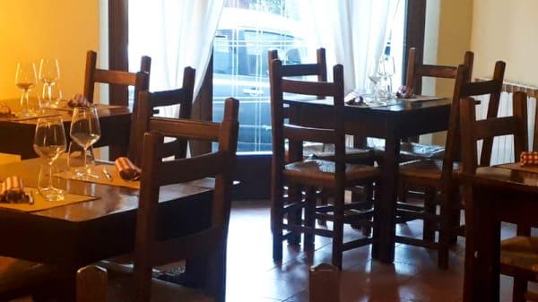 Vista sala - La Taverna di Frasassi, San Vittore