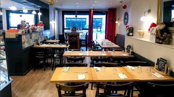 Vue de l'intérieur - Godo Pizzeria Bistrot Bar, Brussels