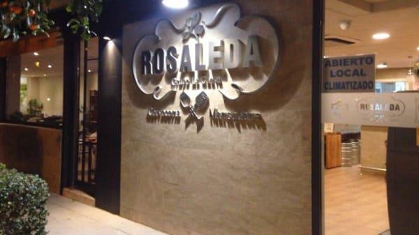 Vista entrada - Marisquería La Rosaleda, Camino De Espera