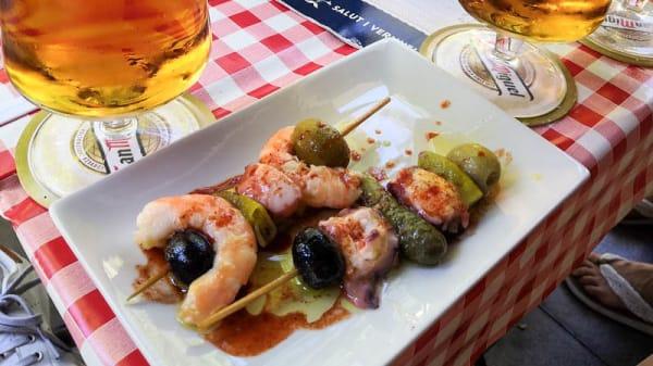 Sugerencia del chef - Vermuteria del yayo, Barcelona