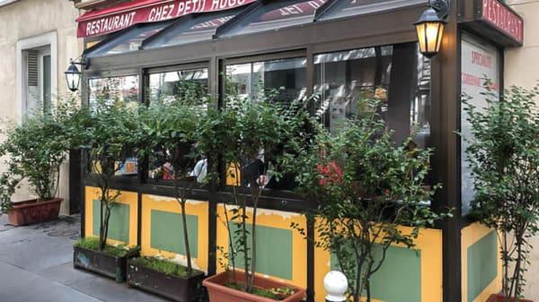Devanture - Chez Petit Hugo, Paris