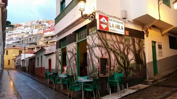 Entrada - La Hila, San Sebastián de La Gomera